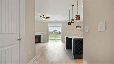 Chesapeake Homes -  The Seaspray Hallway