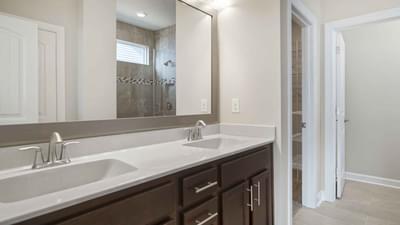 Chesapeake Homes -  The Seaspray Owners Suite Bathroom