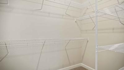 Chesapeake Homes -  The Seaspray Owners Suite Closet