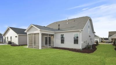 Chesapeake Homes -  The Seaspray Exterior