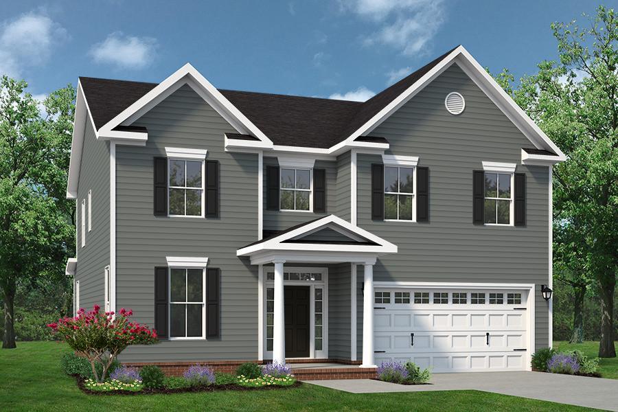 Chesapeake Homes -  The Persimmon Elevation B