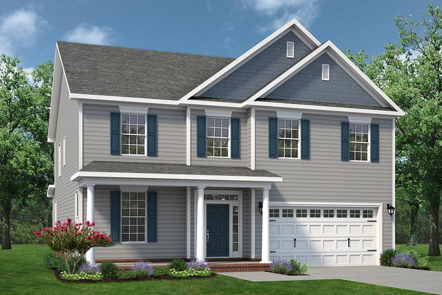 Chesapeake Homes -  The Persimmon Elevation C