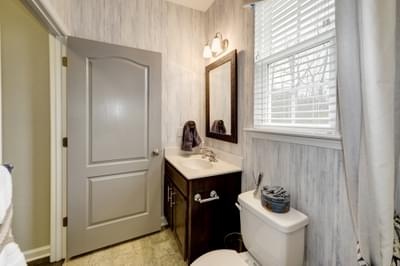 Chesapeake Homes -  The Arietta Full Bathroom Down