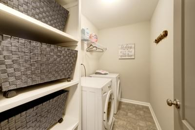 Chesapeake Homes -  The Arietta Laundry Room