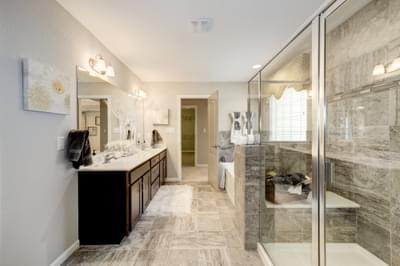 Chesapeake Homes -  The Arietta Owner's Bath