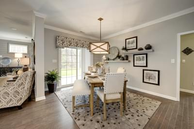Chesapeake Homes -  The Arietta Breakfast Area