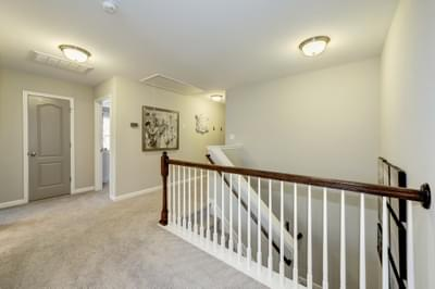 Chesapeake Homes -  The Arietta Upstairs Hallway