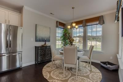 Chesapeake Homes -  The Aria Breakfast Area