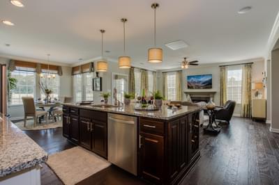 Chesapeake Homes -  The Aria Kitchen