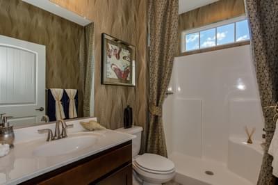 Chesapeake Homes -  The Aria Full Bathroom Down