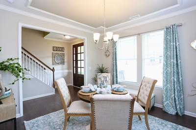 Chesapeake Homes -  The Concerto Dining Room