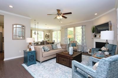Chesapeake Homes -  The Concerto Great Room