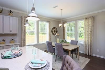 Chesapeake Homes -  The Concerto Breakfast Area