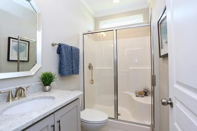 Chesapeake Homes -  The Concerto Full Bathroom Down