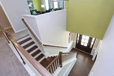 Chesapeake Homes -  The Concerto Two Story Foyer