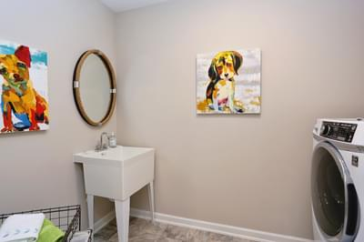 Chesapeake Homes -  The Concerto Laundry Room
