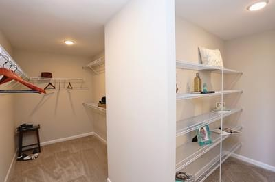 Chesapeake Homes -  The Concerto Owner's Closet
