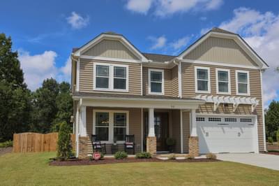 Chesapeake Homes -  The Concerto Exterior
