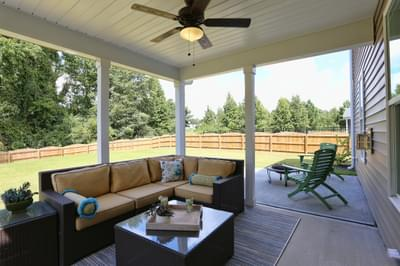 Chesapeake Homes -  The Concerto Rear Covered Porch