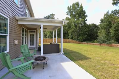 Chesapeake Homes -  The Concerto Rear Patio