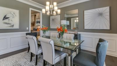 Chesapeake Homes -  The Harmony Dining Room