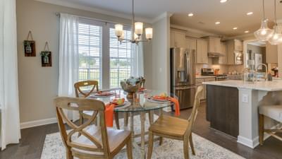 Chesapeake Homes -  The Harmony Breakfast Area