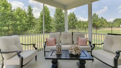 Chesapeake Homes -  The Harmony Rear Covered Porch