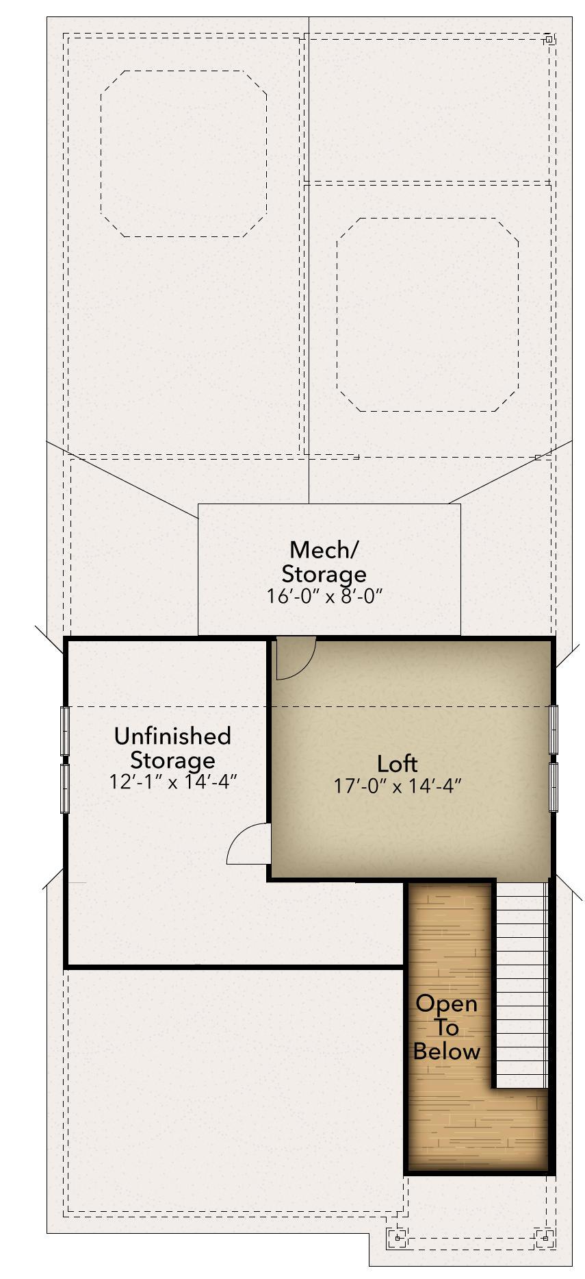 Chesapeake Homes -  The Jasmine Optional second floor
