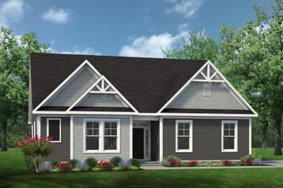 Chesapeake Homes -  The Viola Elevation E