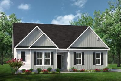 Chesapeake Homes -  The Viola Elevation F