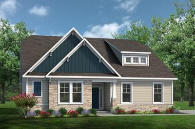 Chesapeake Homes -  The Viola Elevation A
