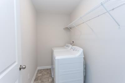 Chesapeake Homes -  The Haydn Laundry Room