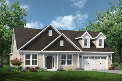 Chesapeake Homes -  The Finale Elevation B