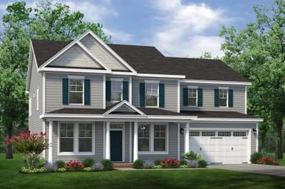 Chesapeake Homes -  The Harmony Elevation D