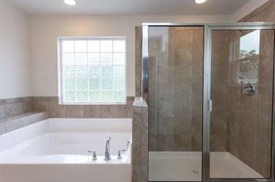 Chesapeake Homes -  The Holly Owner's Bath