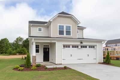 Chesapeake Homes -  The Holly Exterior Elevation A