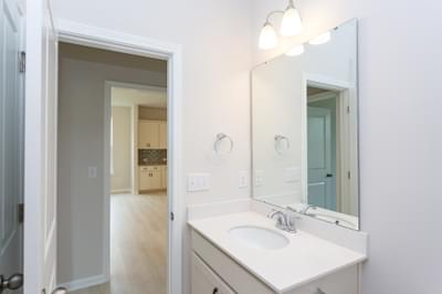 Chesapeake Homes -  The Holly Downstairs Full Bath