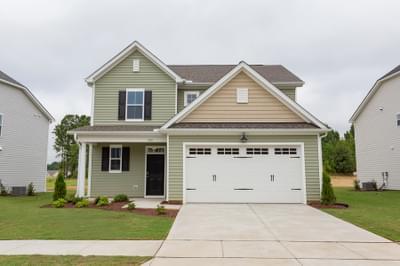 Chesapeake Homes -  The Maple Exterior Elevation B