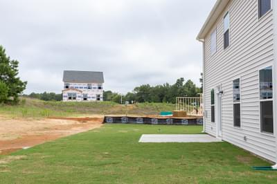 Chesapeake Homes -  The Maple Exterior Patio