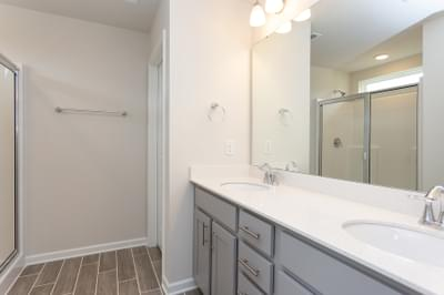 Chesapeake Homes -  The Maple Owner's Bath