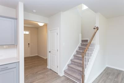 Chesapeake Homes -  The Maple Stairwell