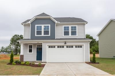 Chesapeake Homes -  The Sycamore Exterior Elevation A