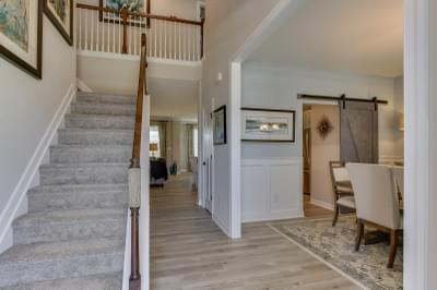 Chesapeake Homes -  The Sierra Foyer