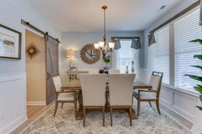 Chesapeake Homes -  The Sierra Dining Room