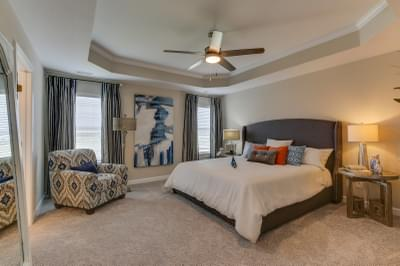 Chesapeake Homes -  The Sierra Owner's Suite