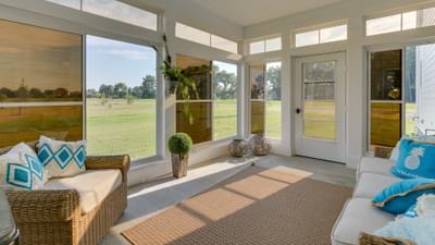 Chesapeake Homes -  167 Preserve Way, Suffolk, VA 23434 Rear Covered Porch