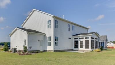 Chesapeake Homes -  167 Preserve Way, Suffolk, VA 23434 Rear Exterior of Home