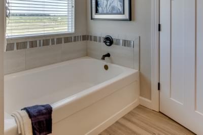 Chesapeake Homes -  The Sierra Owner's Bath