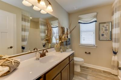 Chesapeake Homes -  The Sierra Upstairs Bathroom