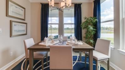 Chesapeake Homes -  The Boardwalk Breakfast Area
